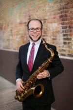 Dallas Jazz Saxophonist Dr. Justin Pierce / Photo by Birdseye Photography